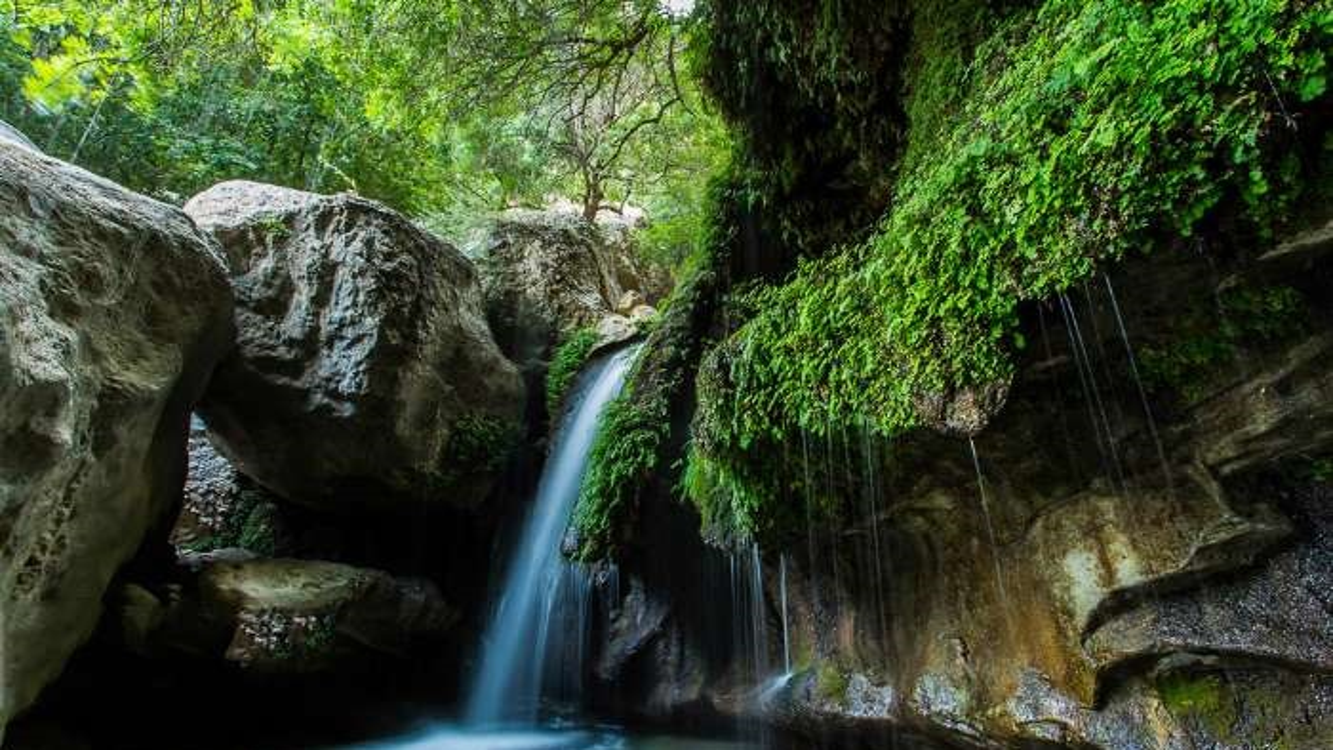 لذت یک روز خاطره انگیز در آبشار تنگ تامرادی یاسوج + فیلم