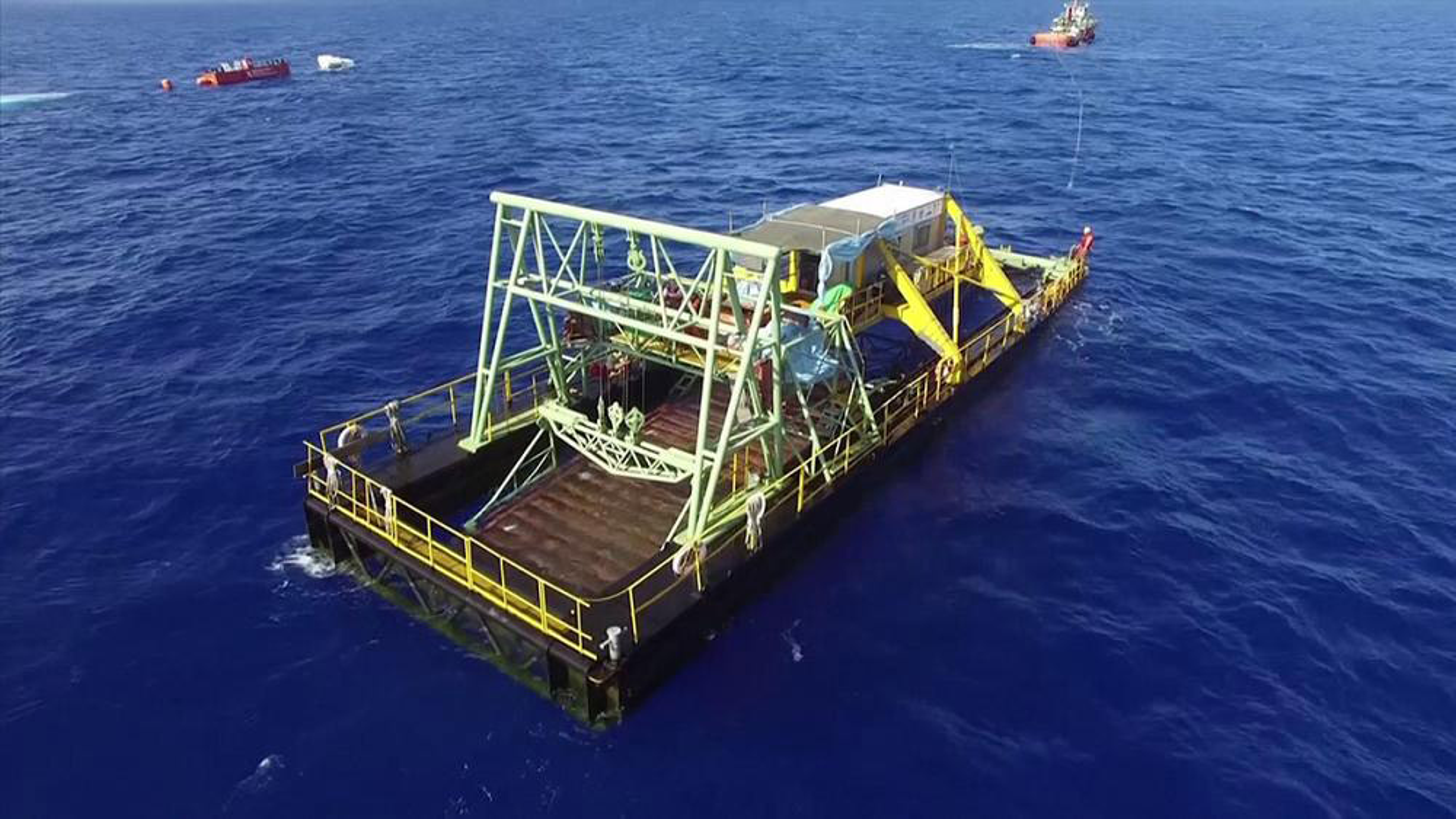 تولید موفقت آمیز برق از جریان آب اقیانوس در تایوان + فیلم