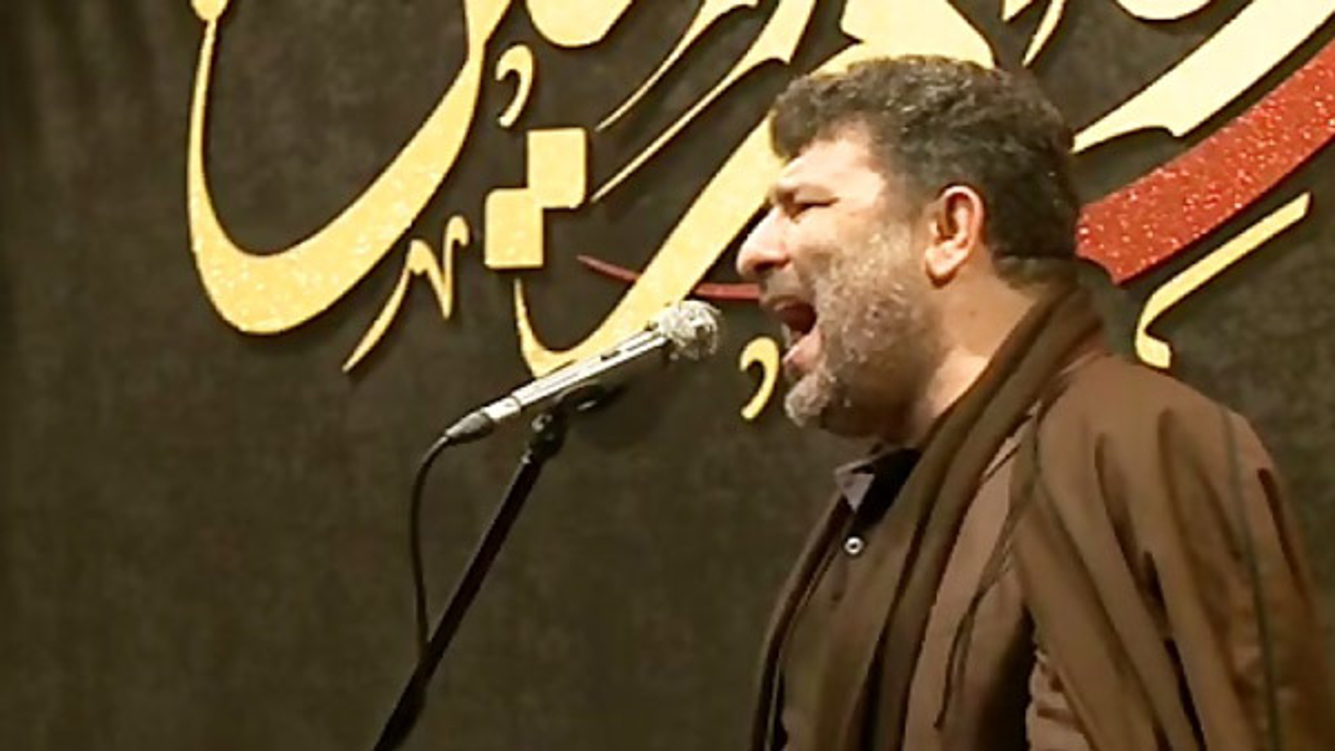 نوحه خوانی حاج سعید حدادیان در شب پنجم محرم + فیلم