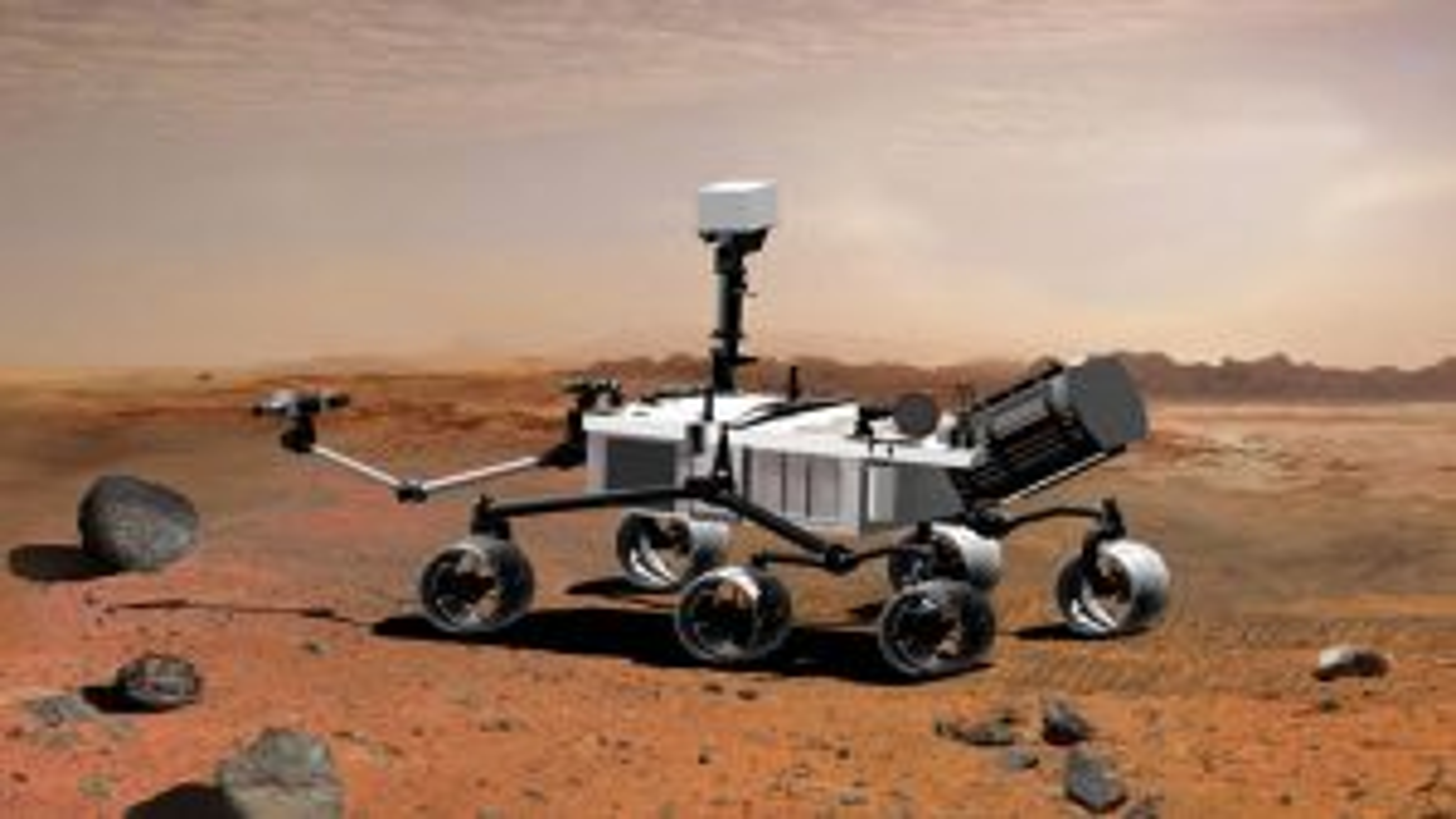 سقوط مریخ نورد آژانس فضایی اروپا | فیلم