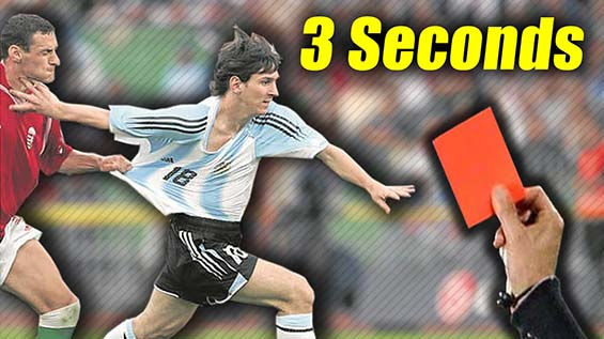 سریعترین کارت های قرمز در تاریخ فوتبال | فیلم