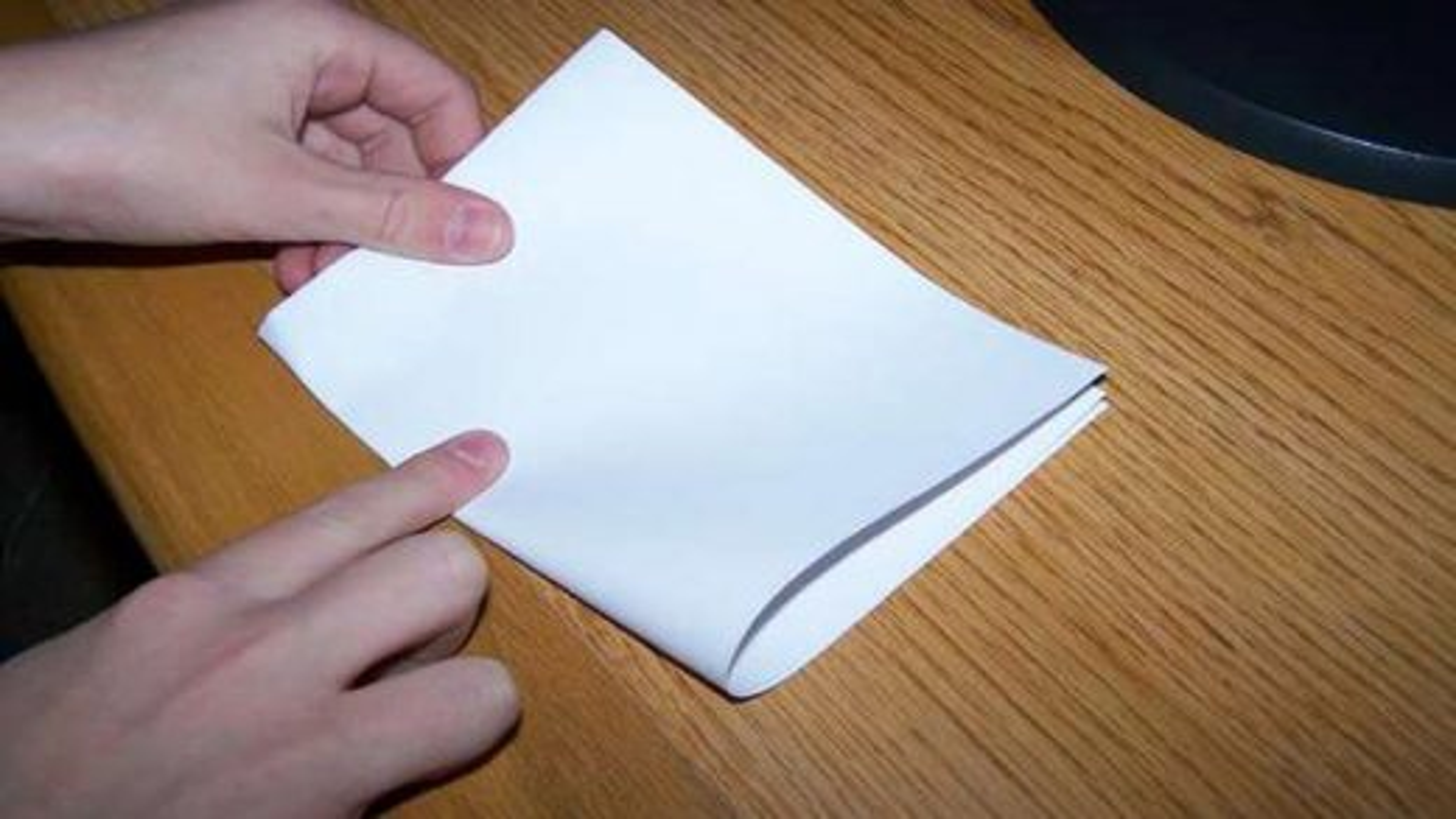 تا کردن کاغذ | تگ