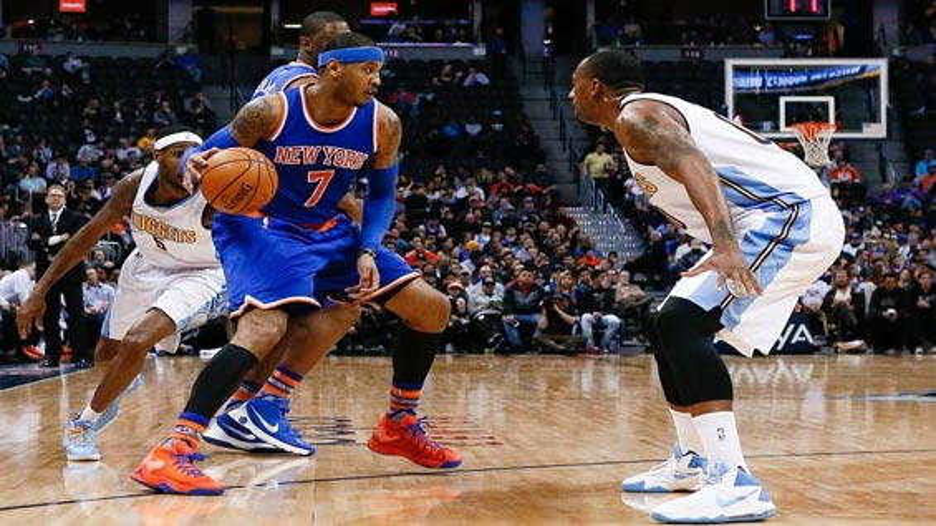 خلاصه بازی بسکتبال نیویورک نیکس 114 - 127 دنور ناگتز | فیلم