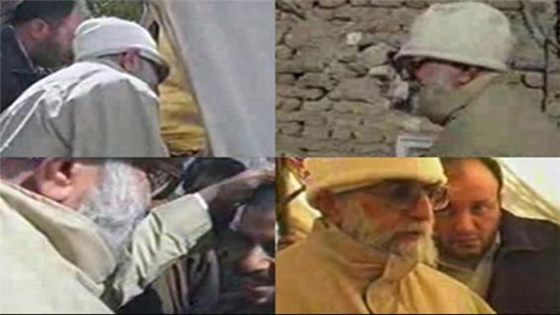 حضور رهبر معظم انقلاب با لباس مبدل در مناطق زلزله زده بم | فیلم