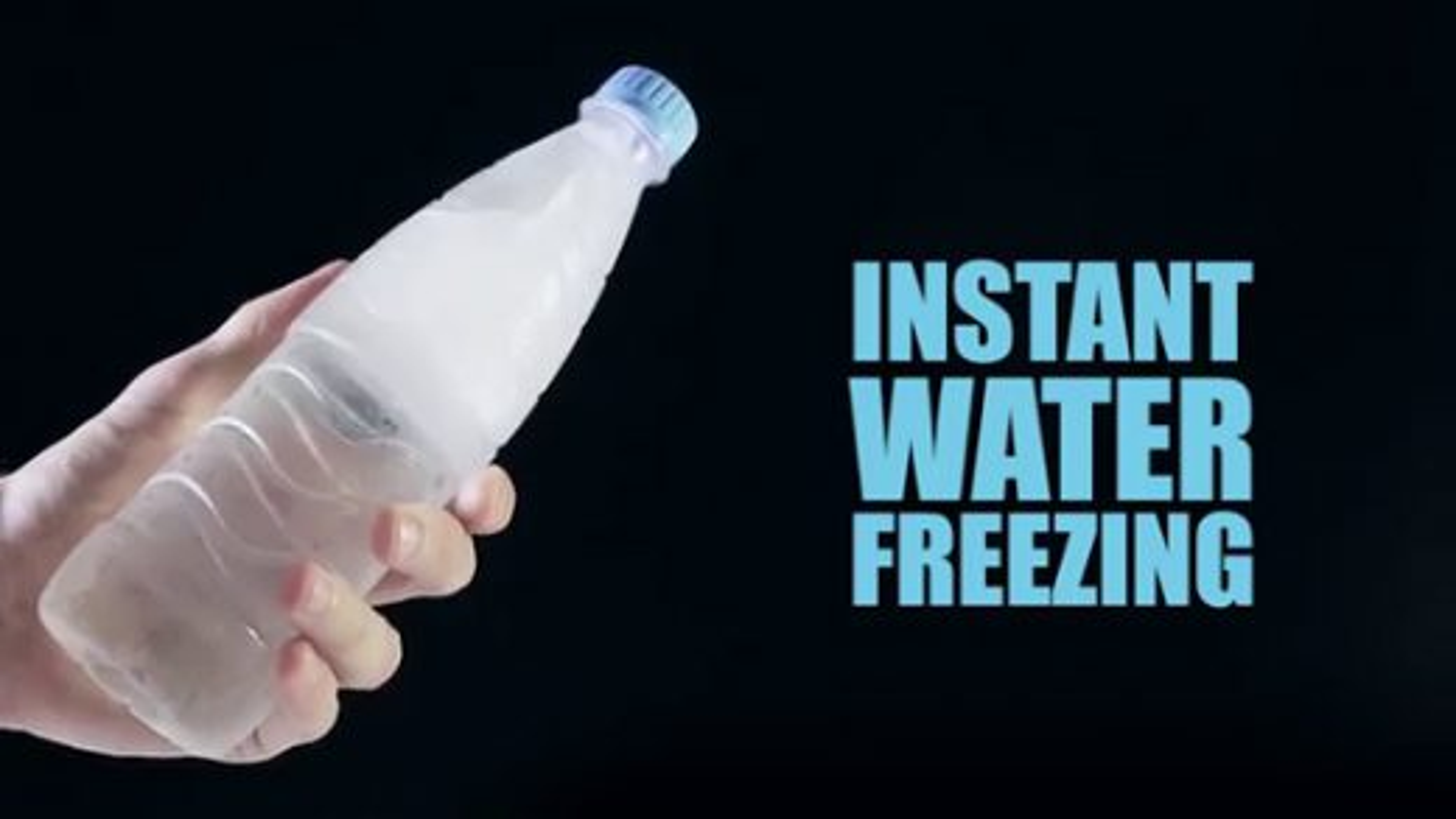 ترفند یخ زدن سریع آب | تگ
