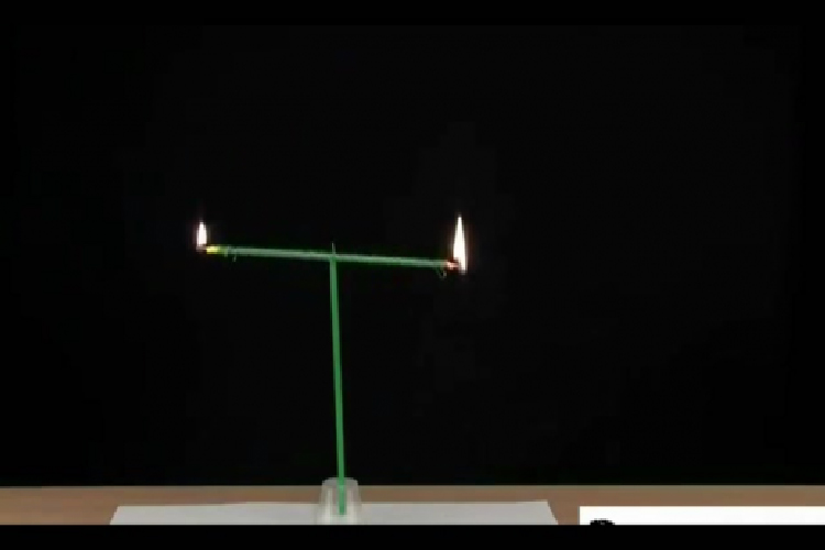 Candle Seesaw