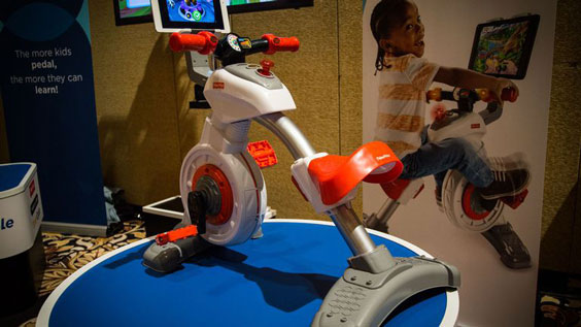 آموزش کودکان با دوچرخه هوشمند | فیلم