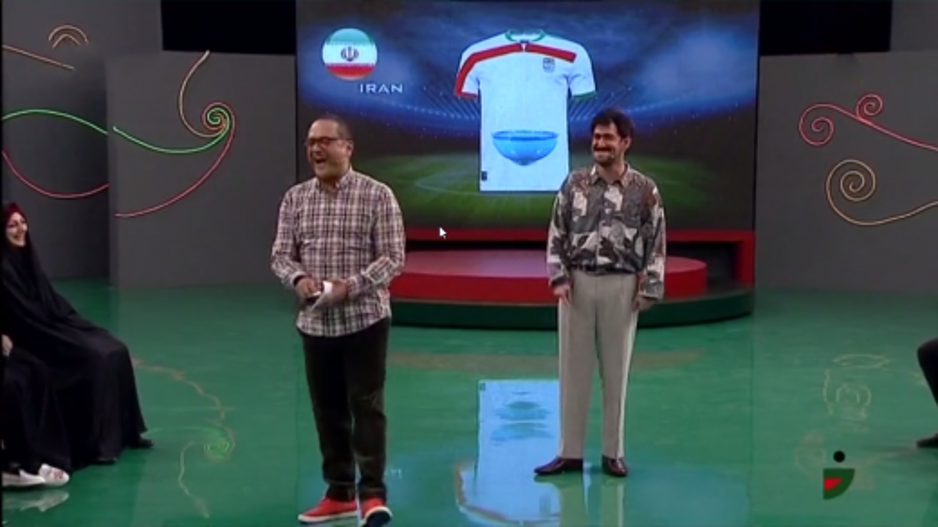 طراحی لباس تیم ملی توسط بایرام