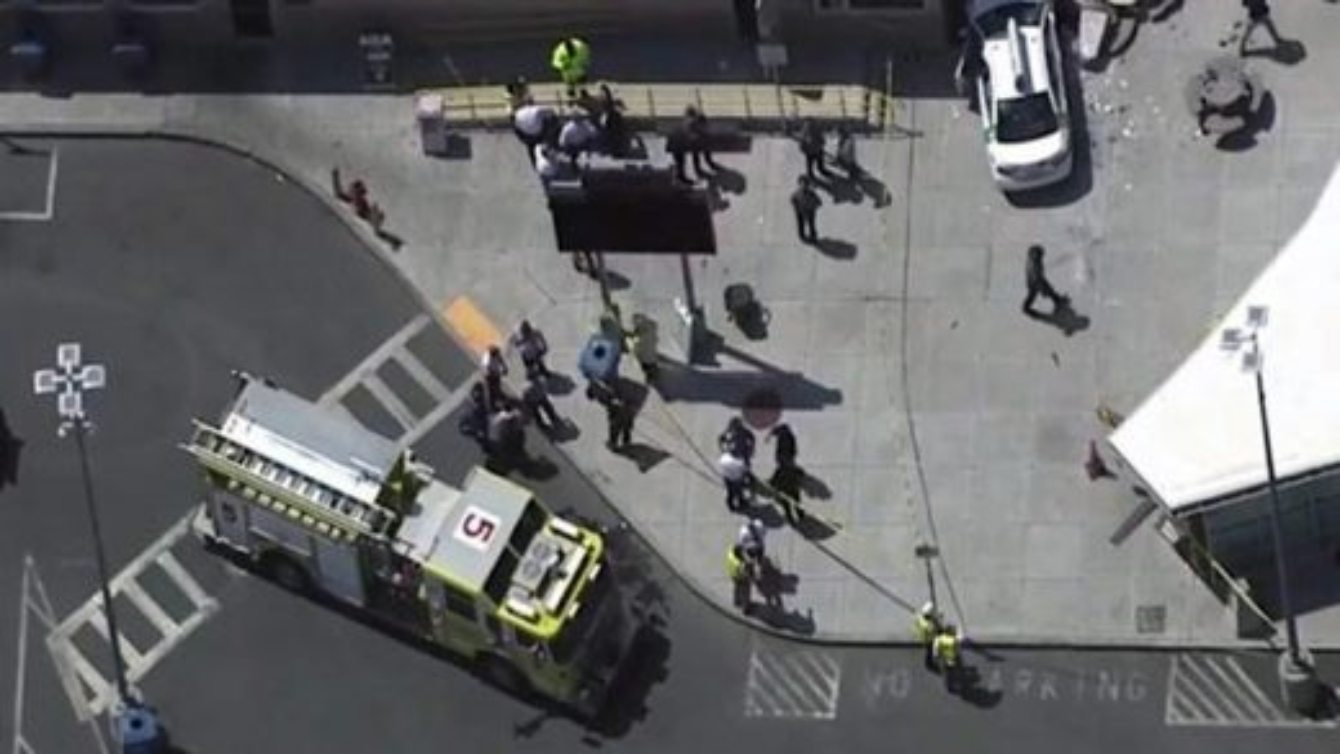 تصادف نزدیک فرودگاه بوستون آمریکا | تگ