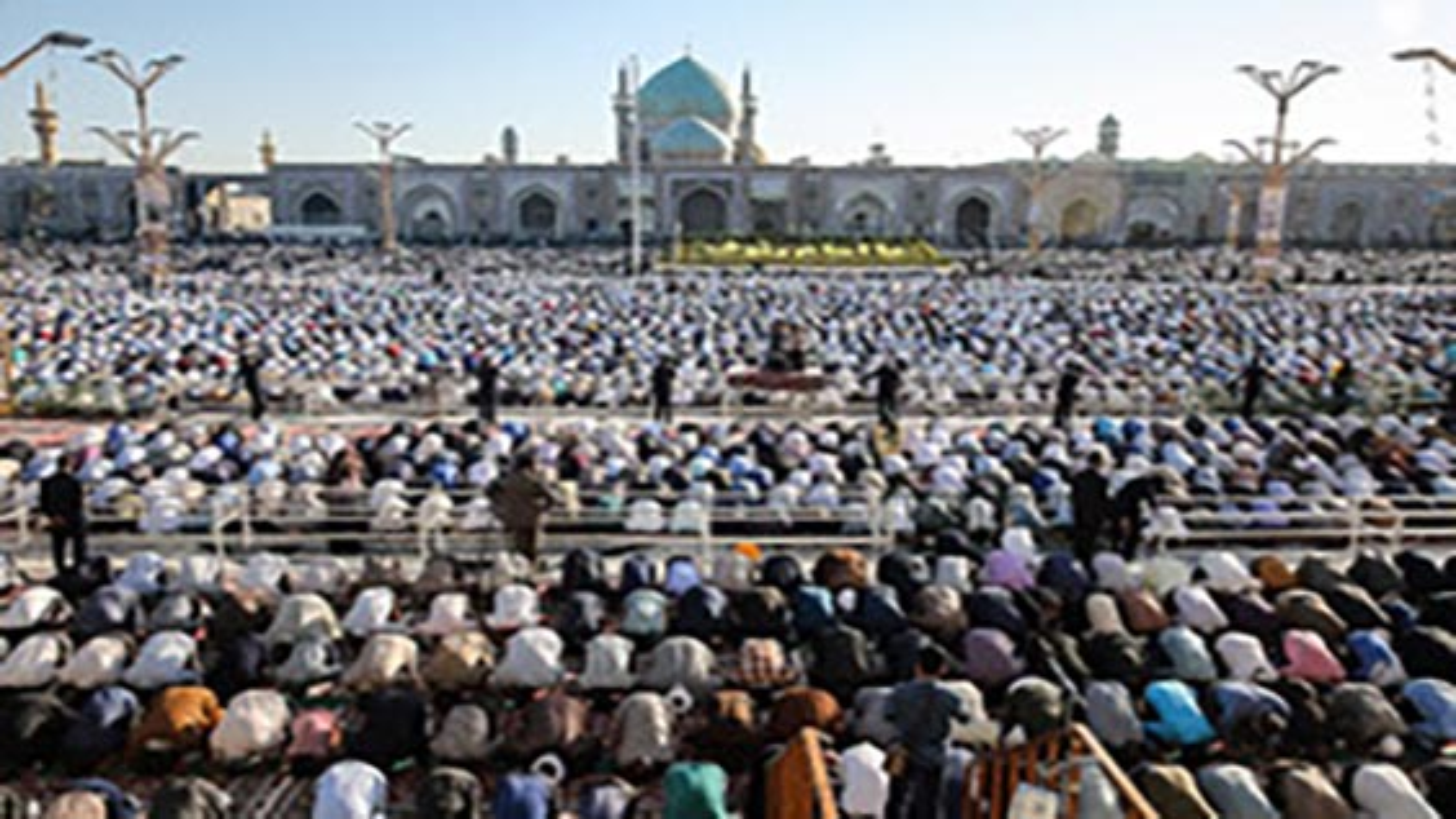 برگزاری نماز عید سعید قربان در سراسر ایران   فیلم