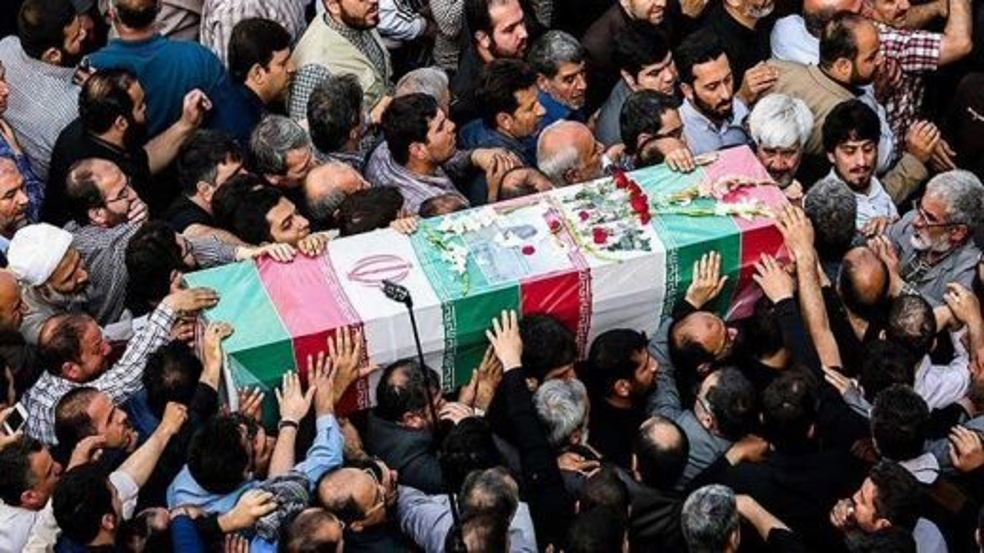 تشییع پیکر شهید حسن جنگجو | تگ