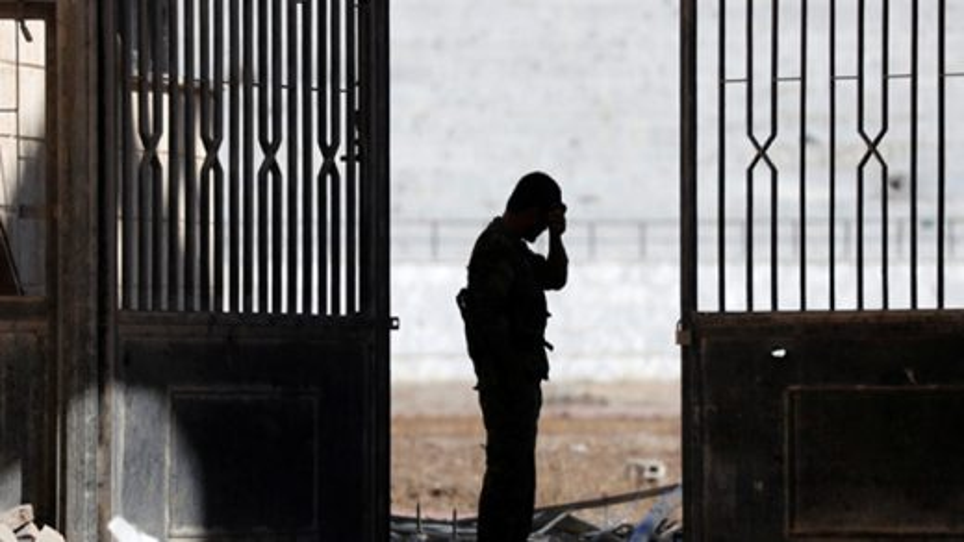 نمایی از زندان مخوف داعش در شهر رقه | تگ