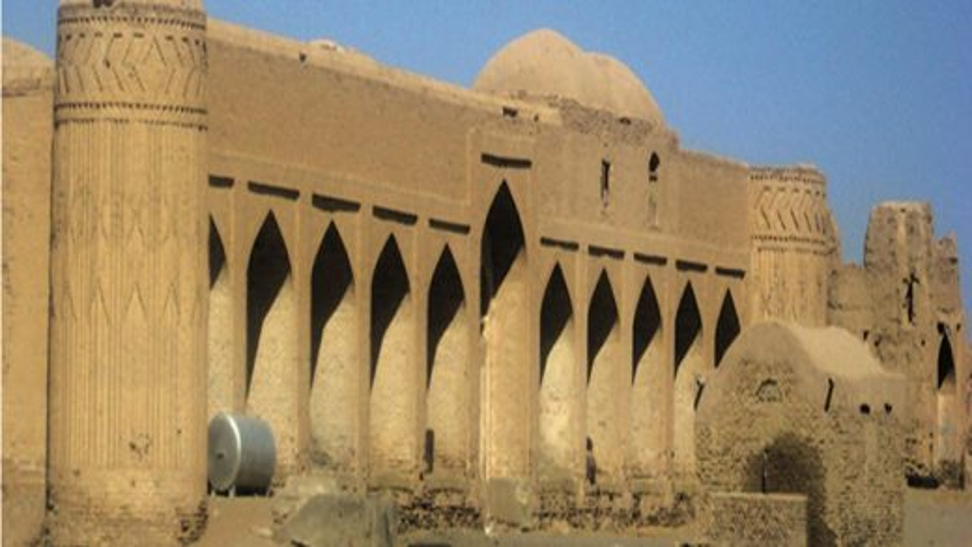 کاروانسرای نوگنبد در شهر نایین استان اصفهان | فیلم