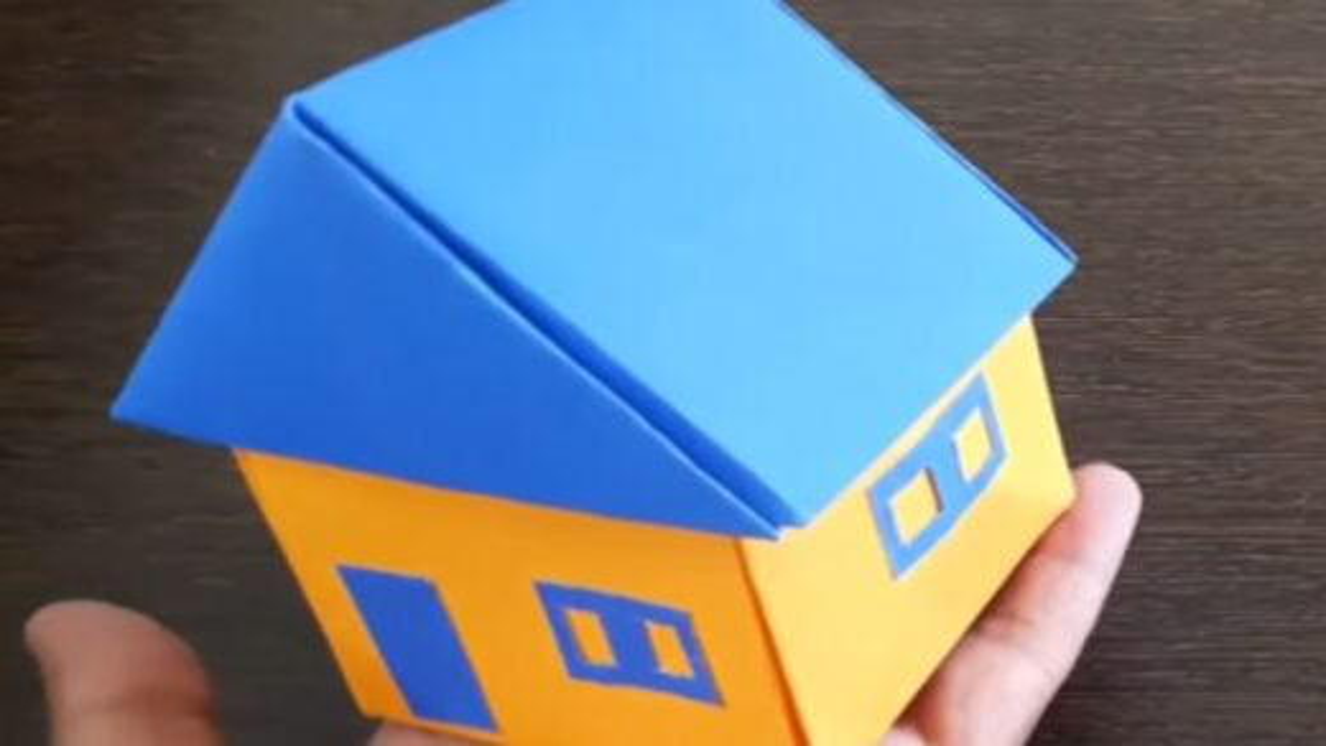 آموزش درست کردن خانه با کاغذ | فیلم