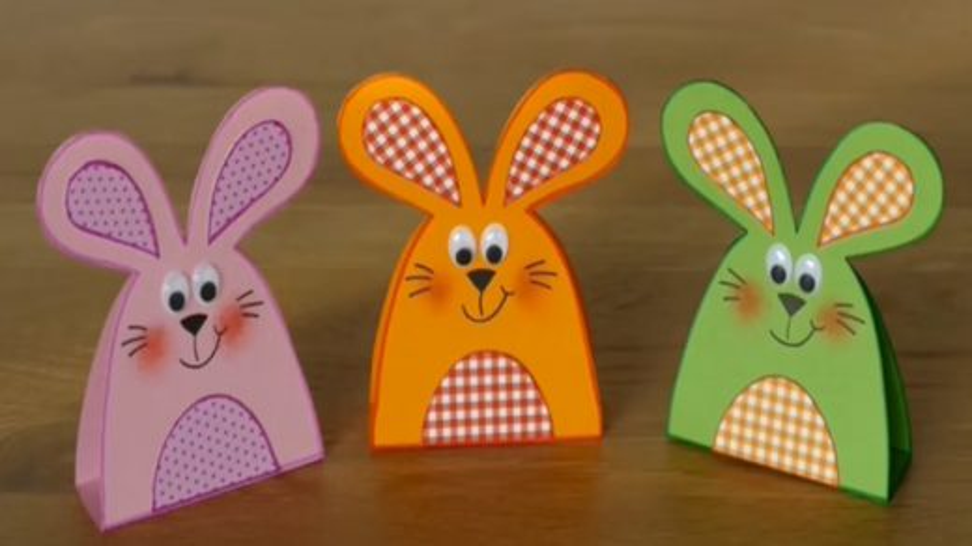 آموزش درست کردن جعبه کادو به شکل خرگوش | فیلم