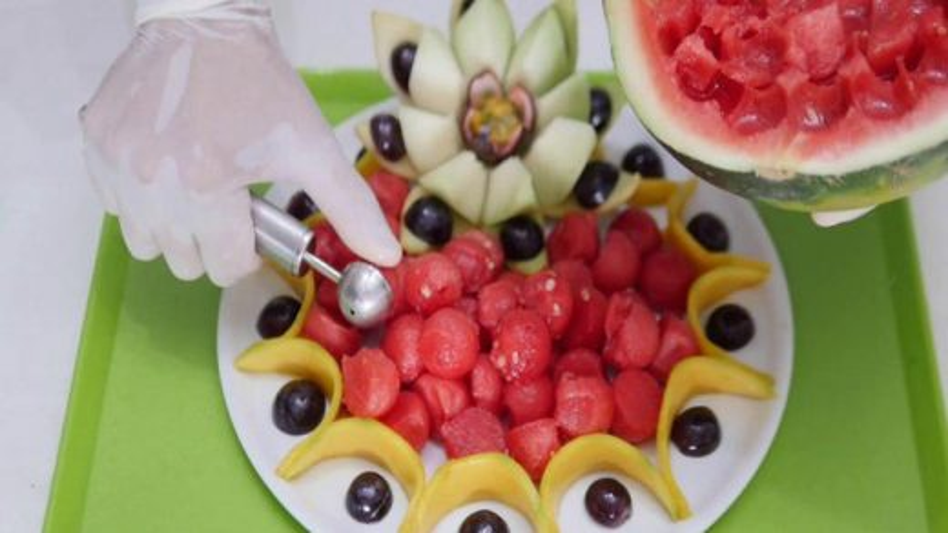 آموزش تزیین و میوه آرایی شب یلدا | فیلم