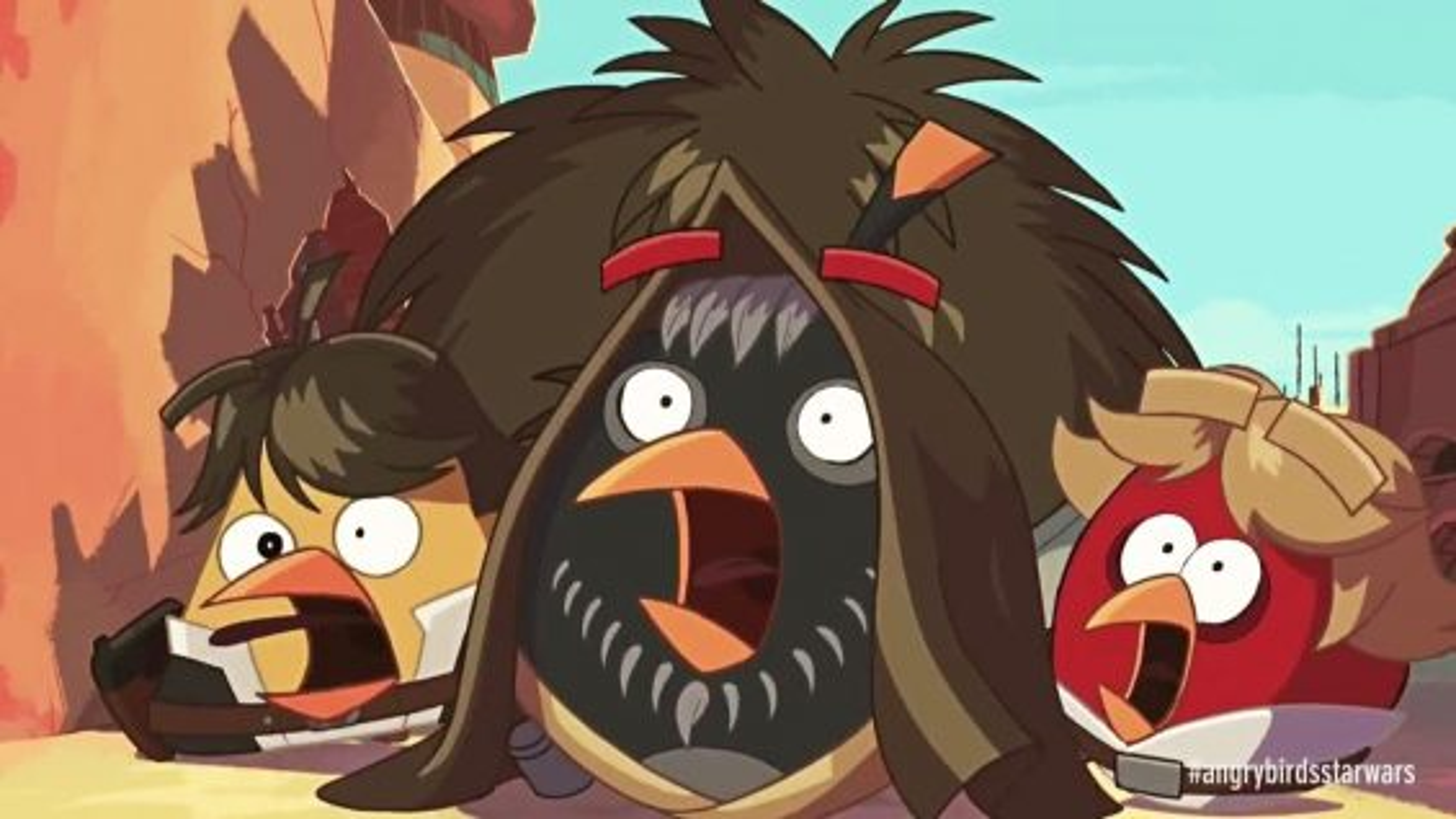 کارتون انگری بردز؛ این قسمت جنگ ستارگان | فیلم