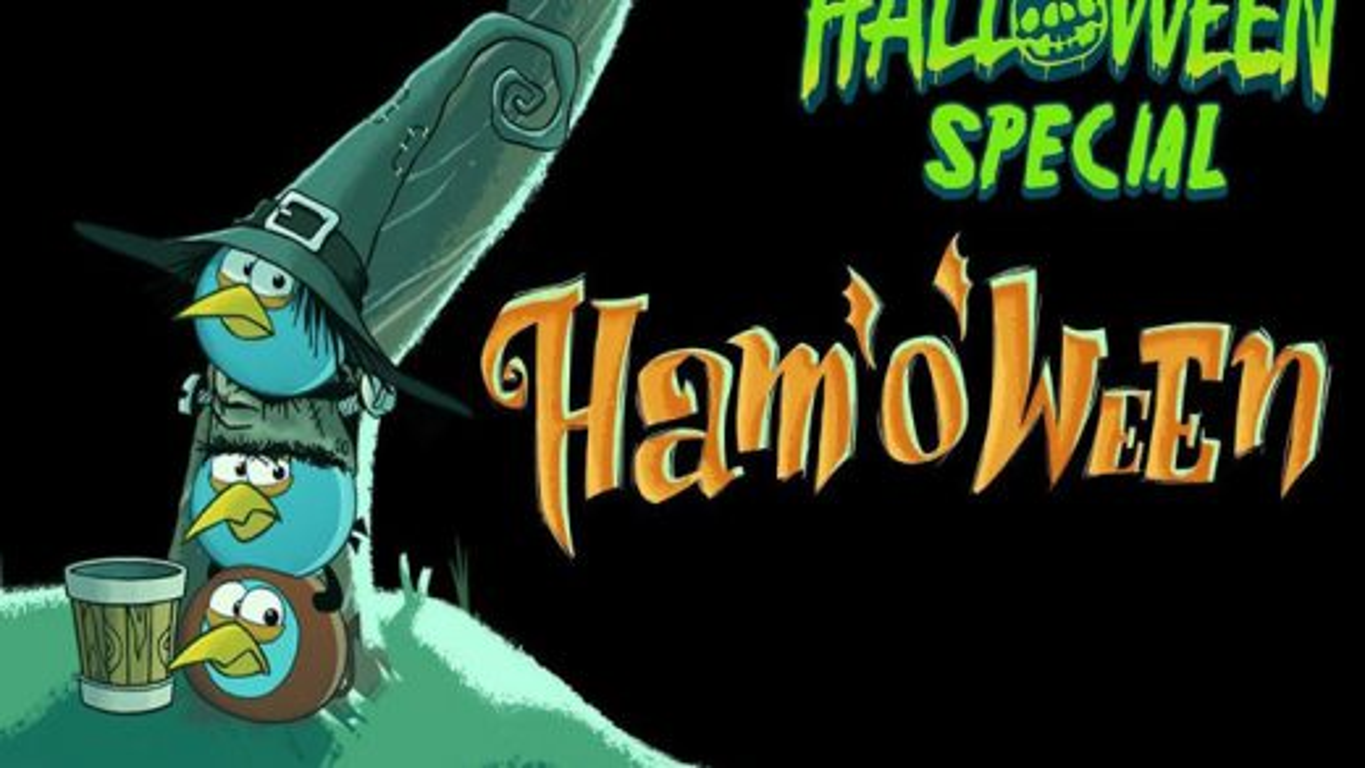 کارتون انگری بردز؛ این قسمت سه قلوها و هالووین | فیلم