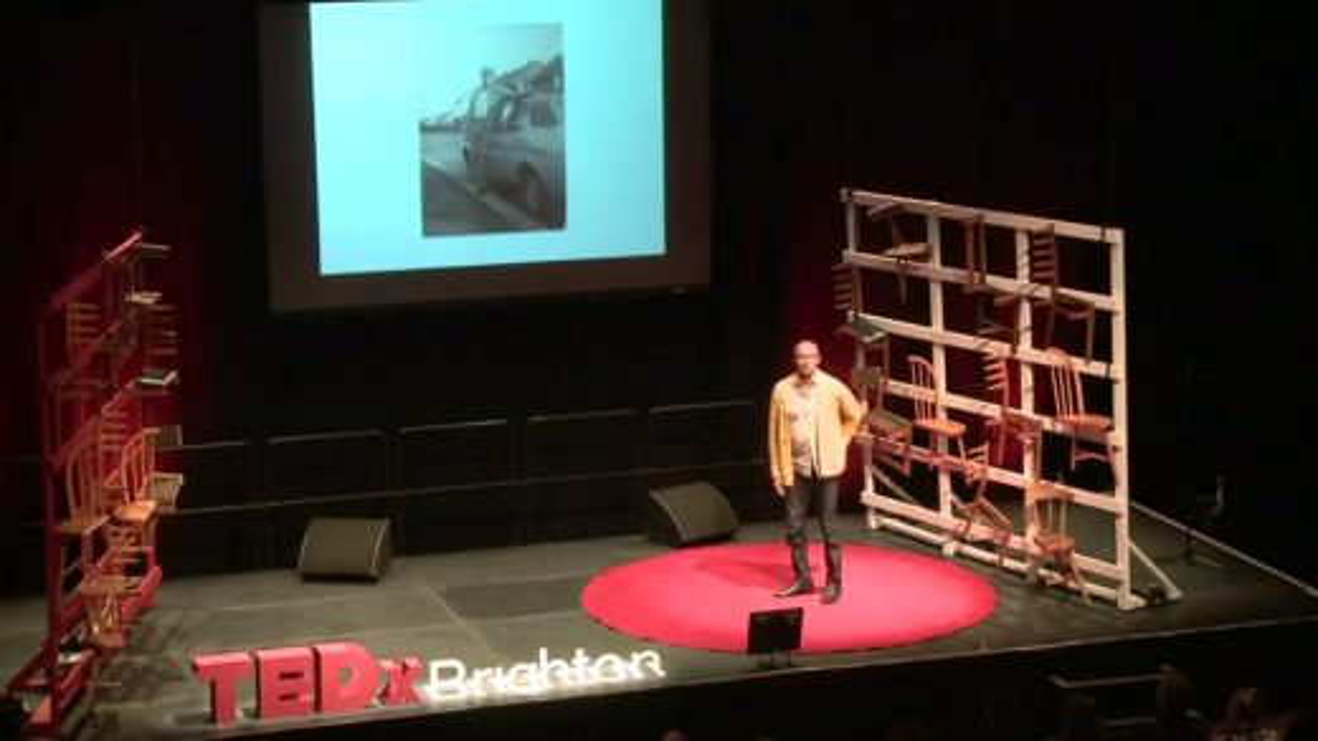 سخنرانیهای تد؛ فردی که قصد کشتن پدرش را داشت | فیلم