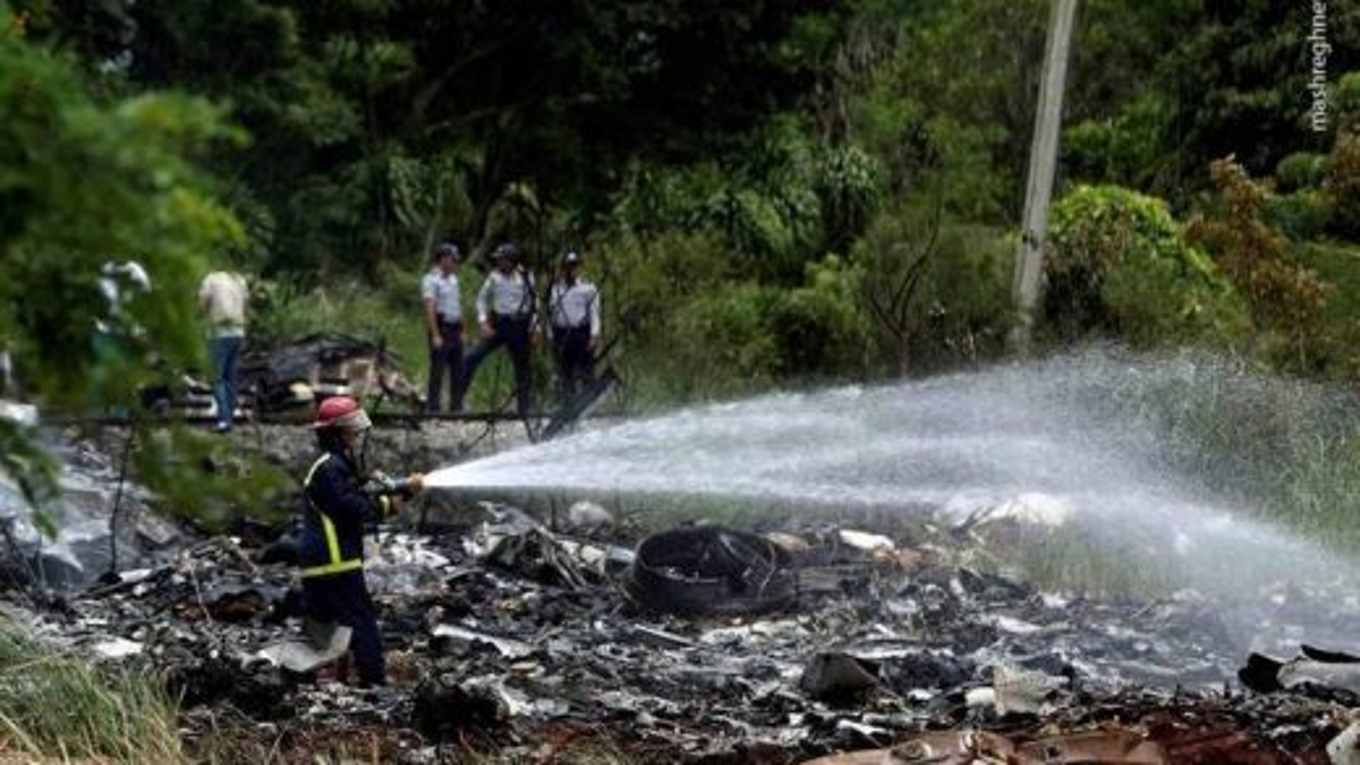 سقوط هواپیما در کوبا